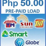 50 Pesos LOAD to ALL Networks