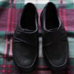 kids' black shoes