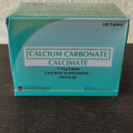 CALCIUM CARBONATE (Calcimate) 1.25g TABLET