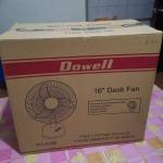 Dowell 16″ Desk Fan