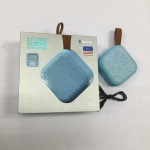 Wireless Bluetooth Speaker Small Blue TZUMI Fabric