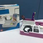 Silver Crest Desk Organizer with USB Hub Function