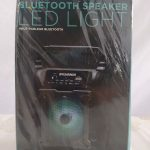Bluetooth Speaker Led Light