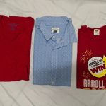 3 PCS MEN'S POLO AND SHIRT (L)