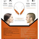 Xit Audio – Sound Band Bluetooth Stereo Headset (Black)